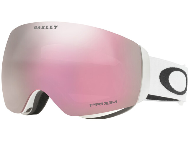 Oakley Flight Deck XM Lunettes de protection Femme, matte white/prizm hi pink iridium